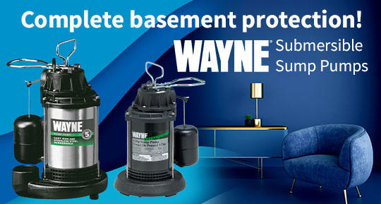 Wayne Submersible Sump Pumps