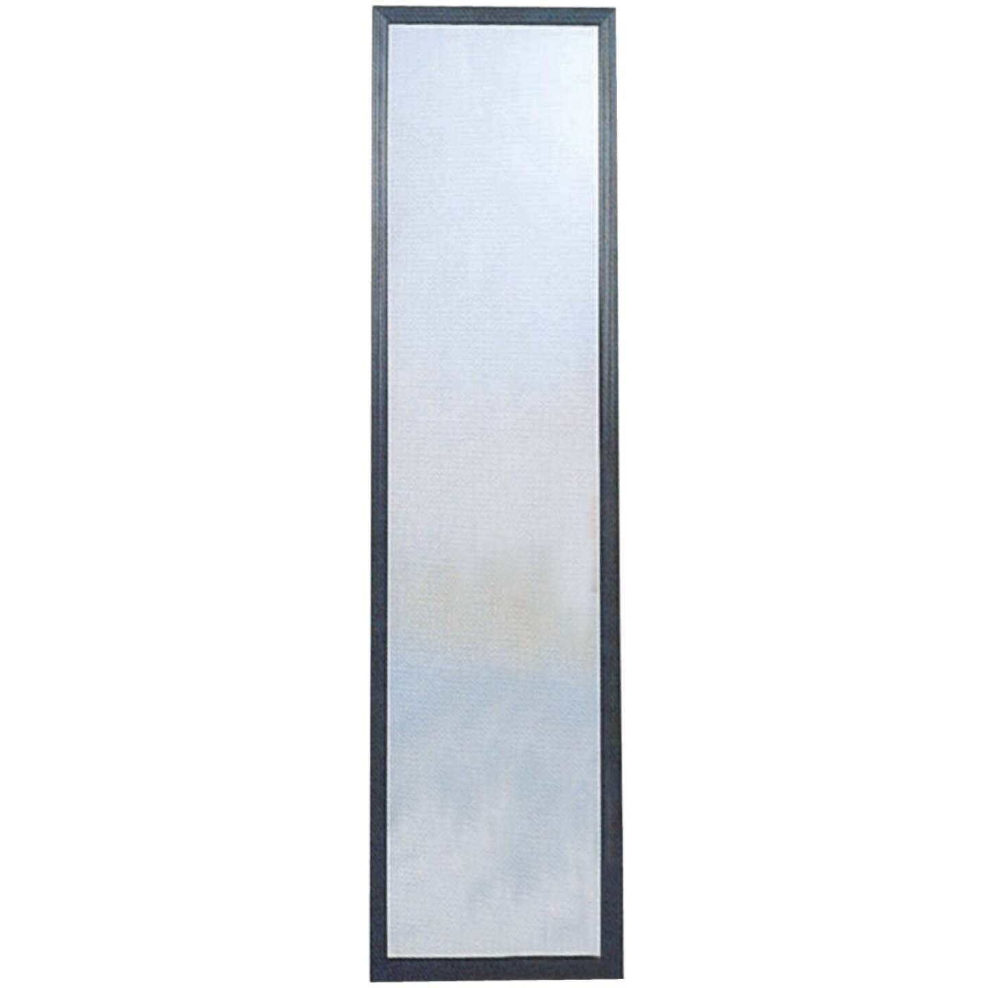 Home Decor Innovations Suave 13 In. x 49 In. Black Plastic Door Mirror Image 1