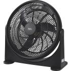 Best Comfort 16 In. 3-Speed Black Floor Fan Image 1