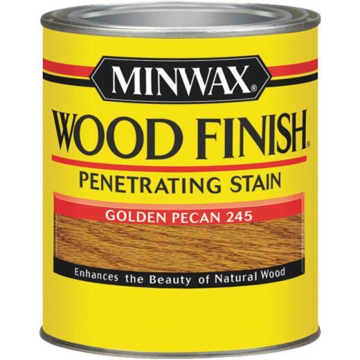 Minwax Wood Finish Penetrating Stain, Golden Pecan, 1/2 Pt.